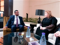 Al-Odeini tells EU official Islah party supports political solution