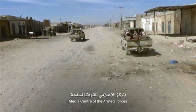 Al-Jawaf: Yemen's army liberates 97% of al-Mutoon district