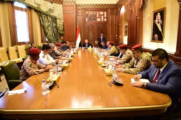 Hadi holds meeting with National Defense Council