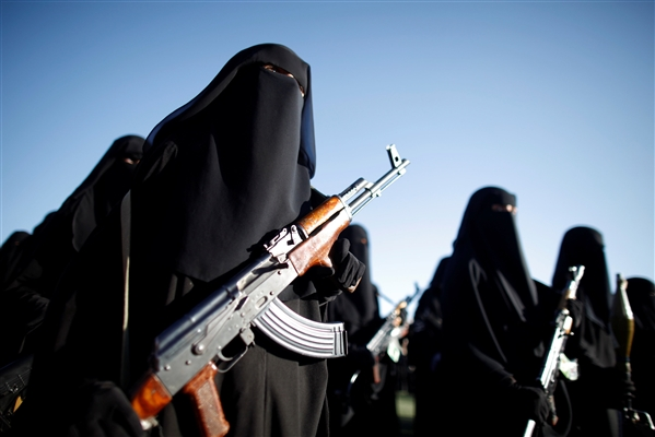 Houthi militias recruited 4000 women fighters, says HOOD