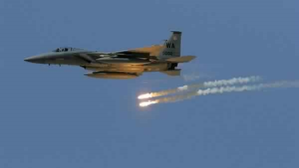Arab Coalition jets bombard Houthi secret camp in Sana'a