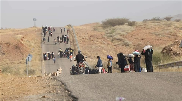 Houthis commit massacre against displaced persons in Hajjah