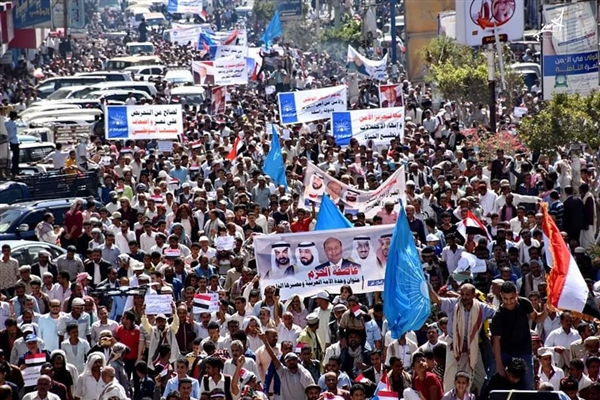 Thousands commemorate 4th anniversary of Arab Coalition's intervention in Yemen
