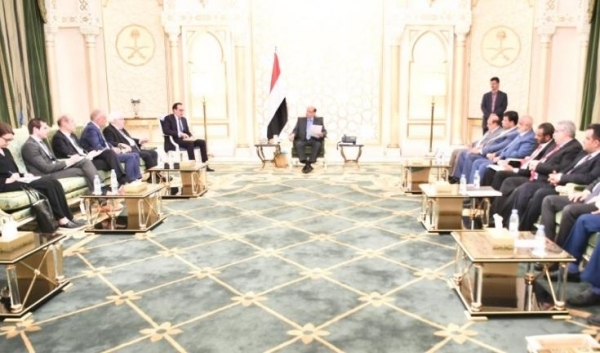President Hadi requests UN Envoy to pressure Houthis