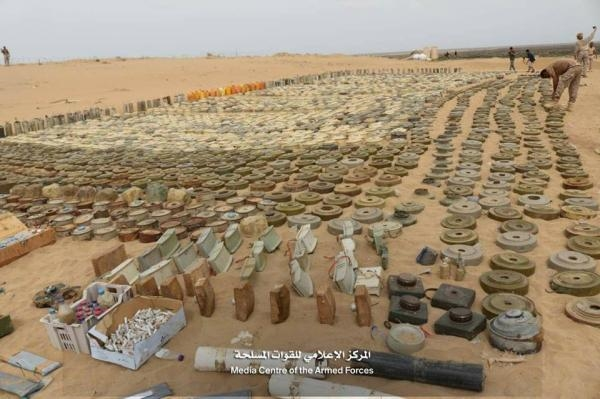Ministry of Interior: Houthis planted one million landmines