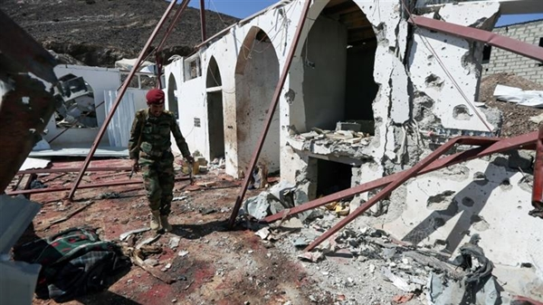 Government: Houthis targeted 76 mosques