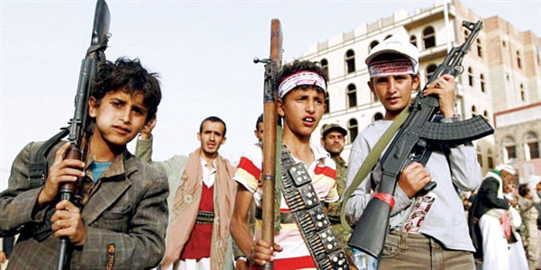 Houthis recruit child soldiers again